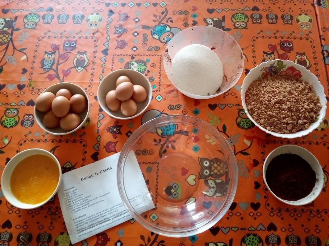 BUNET: la nostra ricetta