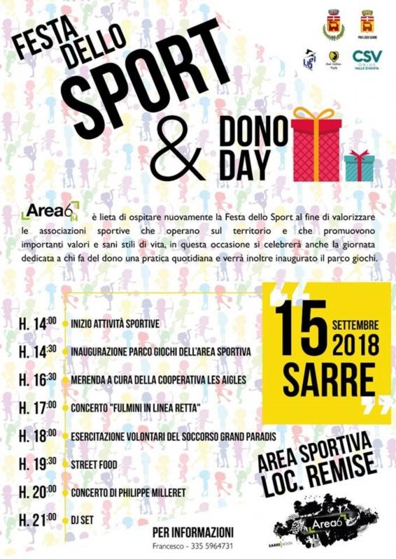 Festa dello sport & Dono day