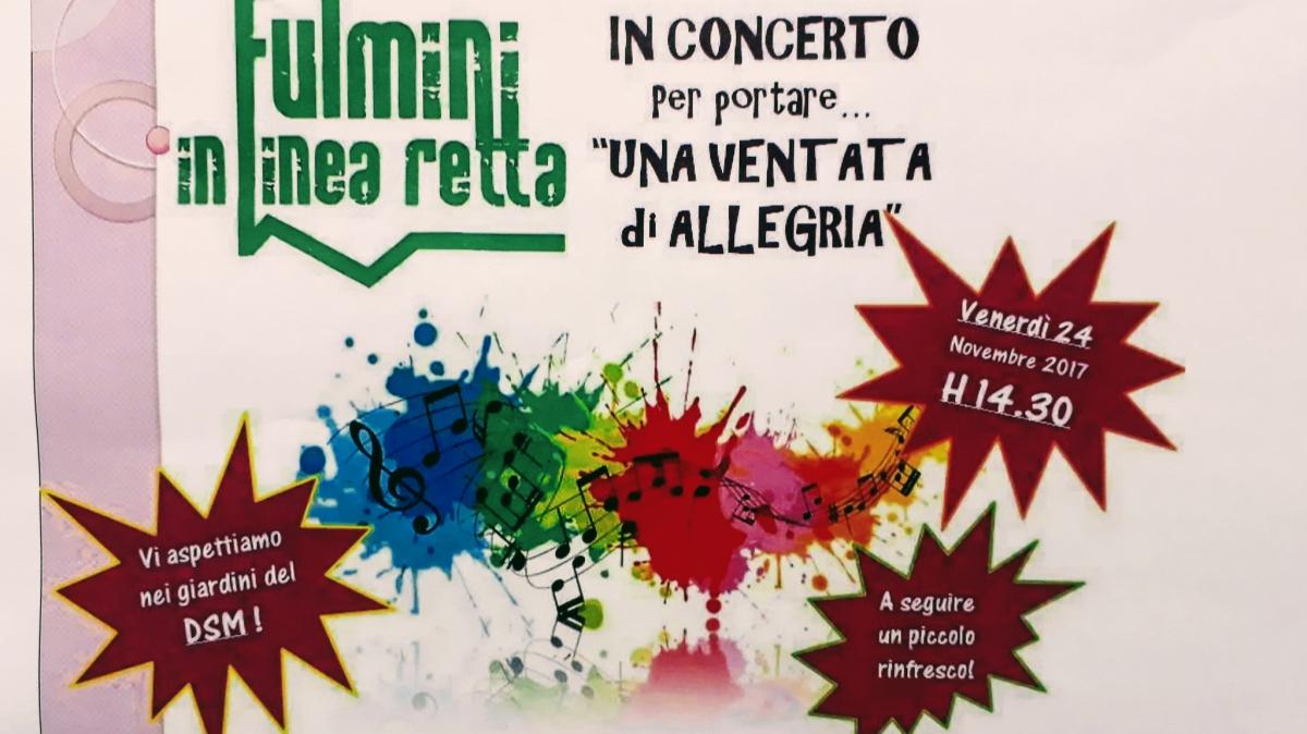 """I Fulmini in Linea Retta, per la prima volta in DSM, per portare """"una ventata di allegria""""!!!"""